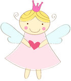 Little angel greeting card Royalty Free Stock Photos