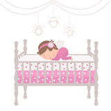 Little angel sleeping Royalty Free Stock Images