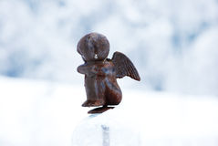 Little Angel Statue Royalty Free Stock Photo