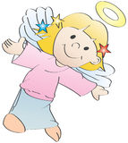 Little angel, vector Royalty Free Stock Photo