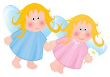 Little angels. Stock Photo