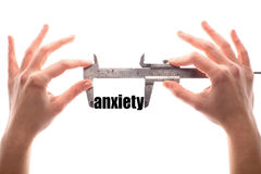 Little anxiety Royalty Free Stock Image