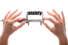 Little anxiety Royalty Free Stock Photography