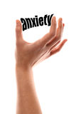 Little anxiety Stock Image