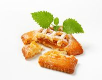 Little apricot pie Royalty Free Stock Photography