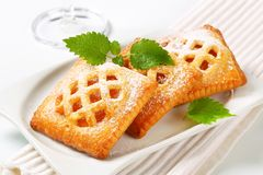 Little apricot pies Royalty Free Stock Images