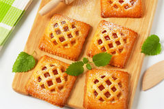 Little apricot pies Royalty Free Stock Photography