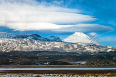 Little Ararat mountain. View of Little Ararat mountain Royalty Free Stock Image