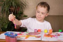 Little Artist Royalty Free Stock Photos