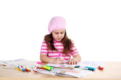Little artist Stock Photos