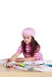 Little artist Stock Images
