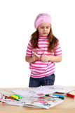 Little artist Stock Images