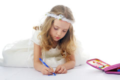 Little artist Royalty Free Stock Image
