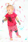 Little artist Royalty Free Stock Images