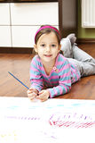 Little artist Stock Photo