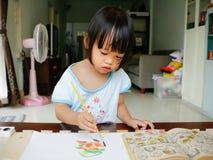 Little artist Stock Photography