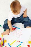 Little artist Royalty Free Stock Image