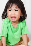 Little Asain Chinese Crying Royalty Free Stock Photos