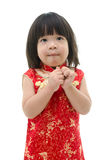 Little asian baby begging Royalty Free Stock Photography