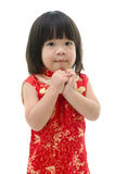 Little asian baby begging Stock Photography