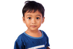 A little asian  boy cry Royalty Free Stock Photos