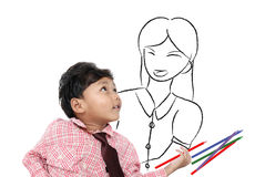 Little asian Stock Image