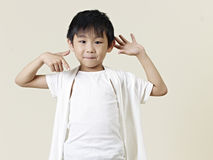 Little asian boy Royalty Free Stock Photography