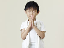 Little asian boy Royalty Free Stock Photos