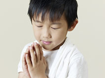 Little asian boy Stock Photos