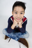 Little asian boy with smile face Royalty Free Stock Photography
