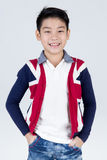 Little asian boy with smile face Royalty Free Stock Photo
