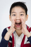 Little asian boy with smile face Royalty Free Stock Images