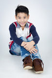 Little asian boy with smile face Stock Images