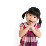 Little Asian child Stock Images
