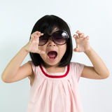 Little Asian child Royalty Free Stock Image