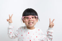 Little Asian child Royalty Free Stock Photo