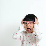 Little Asian child Royalty Free Stock Images