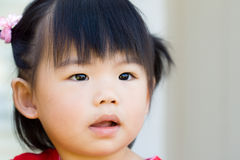 Little Asian Chinese baby girl Royalty Free Stock Photos