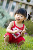 Little Asian Chinese baby girl Royalty Free Stock Photography
