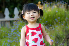 Little Asian Chinese baby girl Stock Photos
