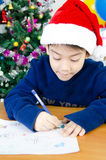 Little asian cute boy Stock Photo