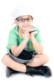 Little Asian cute chef   Stock Image