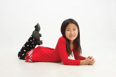 Little asian girl 1 Stock Images