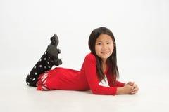 Little asian girl 1 Stock Images