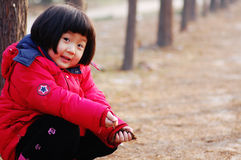 Little Asian girl Stock Photo