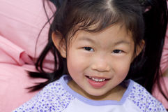 Little Asian girl Stock Image