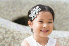 Little asian girl Royalty Free Stock Photography