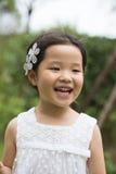 Little asian girl Royalty Free Stock Photos