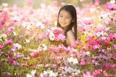 Little asian girl Stock Photos