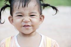 Little Asian Girl. A little Asian girl in the garden Stock Photography